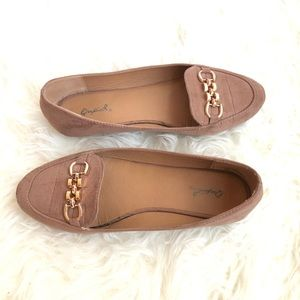 QUPID | Tan loafers